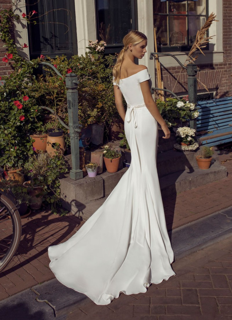 The Dixie dress by Modeca & Le Papillon wedding dresses