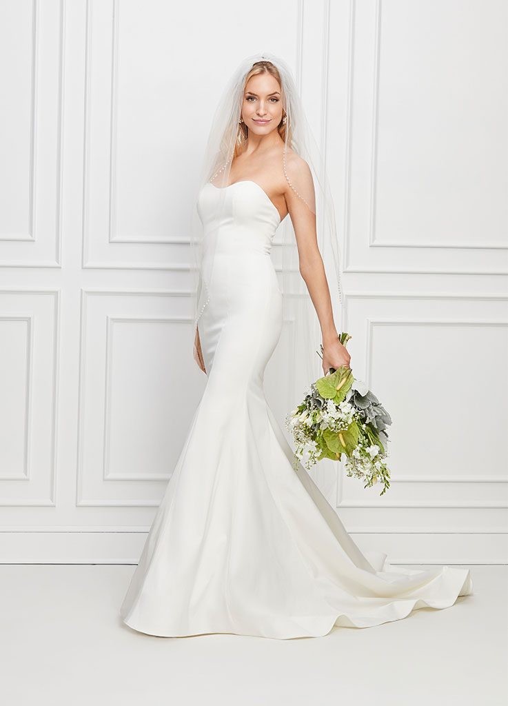 The Annicke dress by Watters & Wtoo wedding dresses (side)