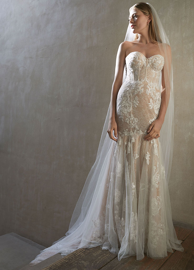The Oksana dress by Watters & Wtoo wedding dresses (front)