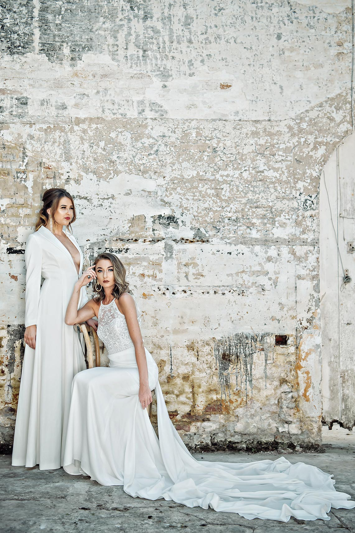 Bridal gowns by Watters and Aire Barcelona