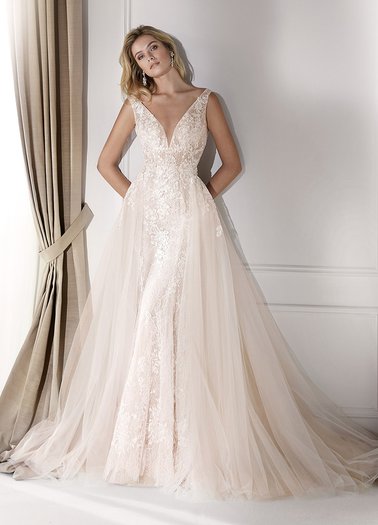 The Milan dress by Nicole Spose wedding dresses (front)